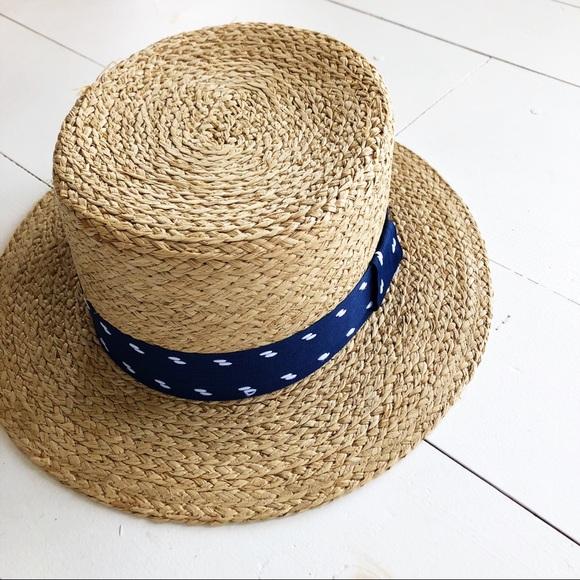 Brixton Accessories - Brixton Autumn raffia straw boater hat 56a00015621
